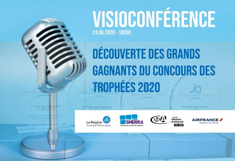 Revivez la visioconférence de l'annonce des gagnants du concours des Trophées 2020 !