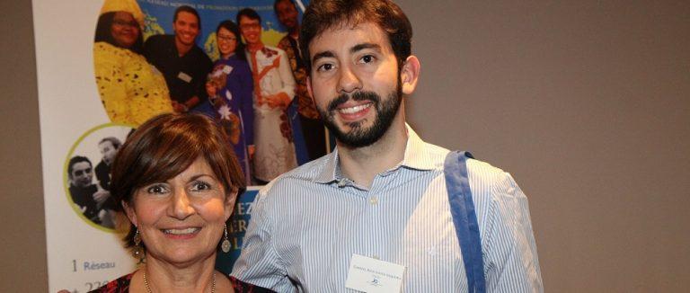 Christine Peyrache, Présidente de l'antenne de Saint-Etienne de 2017 à 2020