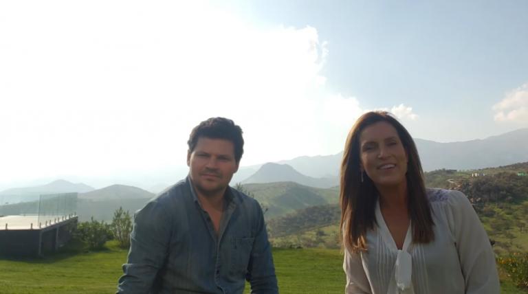 Francisco Sotomayor et Iolanda Albuquerque, binôme Relais Pays Chili et Brésil