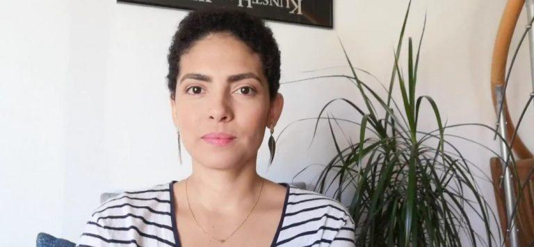 Gláucia Nielle, relais pays brésilienne
