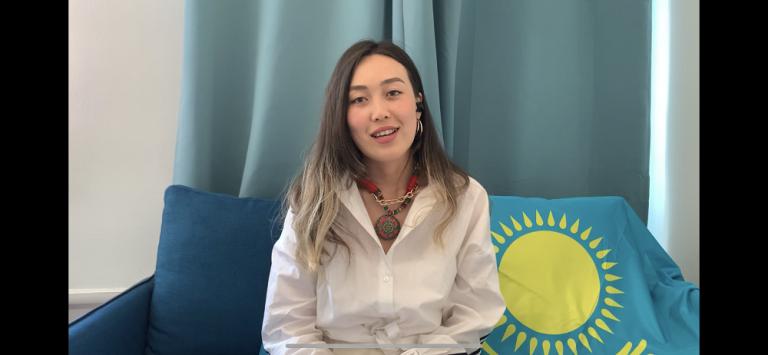 Madina Naukanova, Relais Pays Kazakhstan