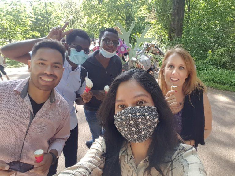 Lyon : Café mexicain au Parc de la Tête d'Or