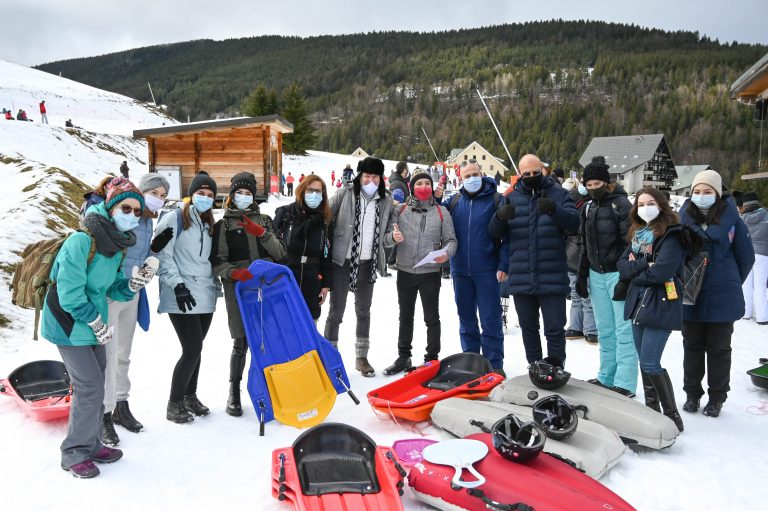Lyon : Les JA font du ski à Villard-de-Lans 31/01/2021